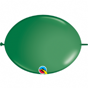 Qualatex Quick Link Balloons - Green Quick Link Balloons | Free Delivery